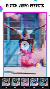 Glitch Videoeffekt- Fotoeffekte Screenshot