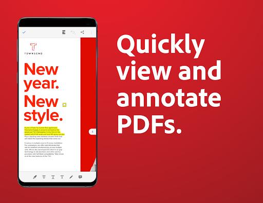 Download Adobe Acrobat Reader: PDF Viewer, Editor & Creator mod apk 2