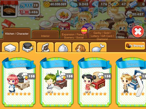 Hello Seafood 2 for Kakao 2.9.5 screenshots 14