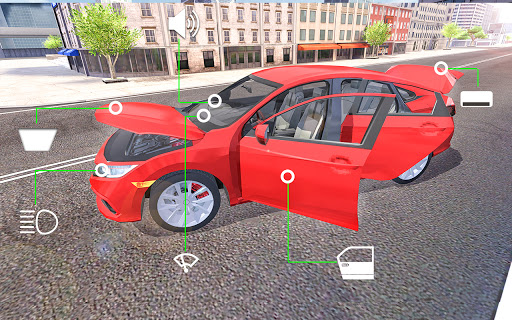 City Car Simulator 2020: Civic Driving  Screenshots 9