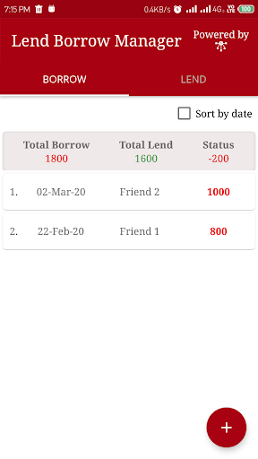 Manager4Expense - Expense, Income, Money Manager  screenshots 5