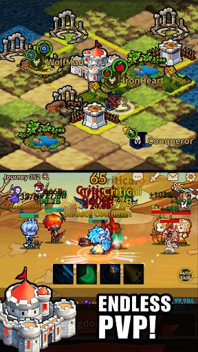 Télécharger Infinity Heroes : Idle RPG apk mod screenshots 4
