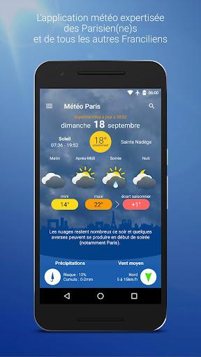 Mu00e9tu00e9o Paris Screenshots 1