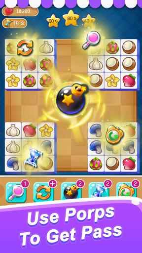 Fruit Connect: Onet Fruits, Tile Link Game Apkfinish screenshots 3
