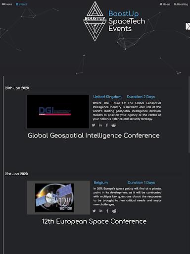 BoostUp Group - Space Tech, Newspace, News, Events  screenshots 11