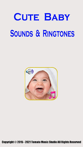 Cute Baby Sounds & Ringtones  screenshots 1