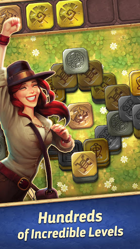 jones adventure mahjong - quest of jewels cave screenshot 3