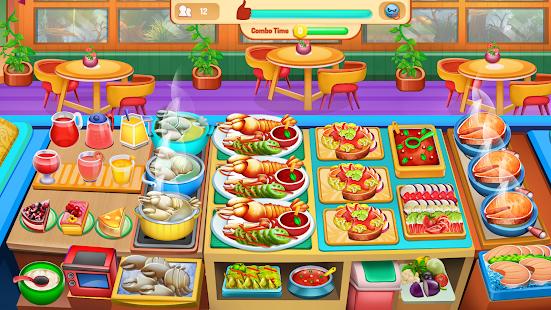 Chefu2019s Kitchen: Restaurant Cooking Games 2021 screenshots 9