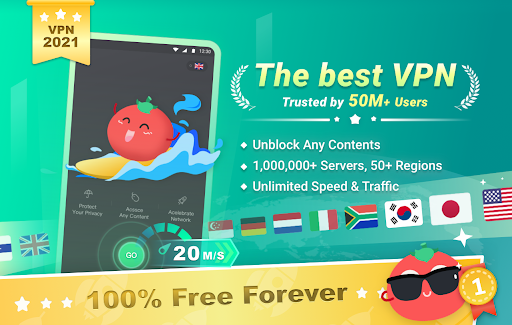 Free VPN Tomato   Fastest Free Hotspot VPN Proxy apktram screenshots 1