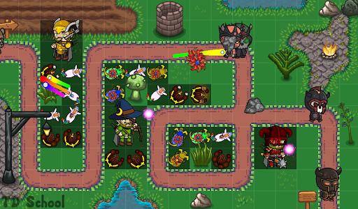 Tower Defense School: BTD Hero RPG PvP Online 1.121 screenshots 5