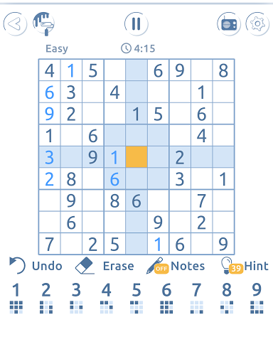Sudoku Genius - sudoku free games  screenshots 18