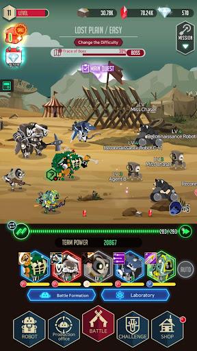 After War u2013 Idle Robot RPG screenshots 3