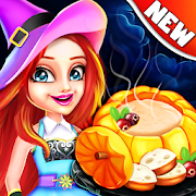 Halloween Cooking: Chef Madness Fever Games Craze MOD APK 1.4.24 (Free Shopping)