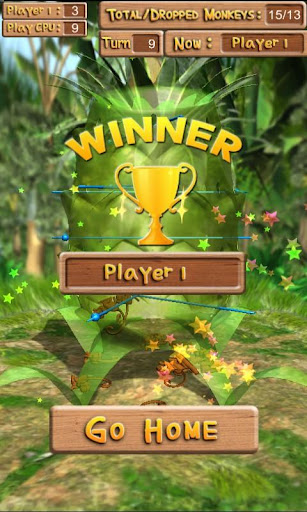 Dropping Monkeys 3D Board Game - Play Together.  screenshots 6