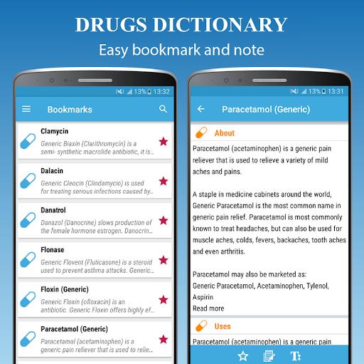Drugs Dictionary Offline - Drug A-Z List 2.0 Screenshots 4