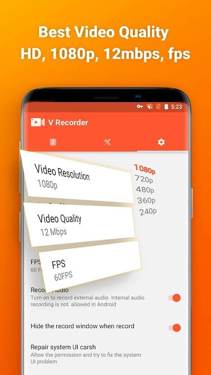 Screen Recorder, Video Recorder, V Recorder Editor  poster 4