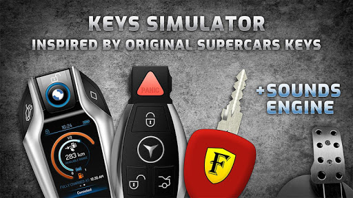 Keys simulator and engine sounds of supercars 1.0.1 Screenshots 1