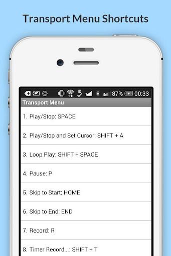 Free Audacity Shortcuts 6.6.6.2 Screenshots 5
