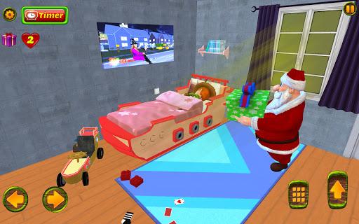 Santa Christmas Infinite Track screenshots 13