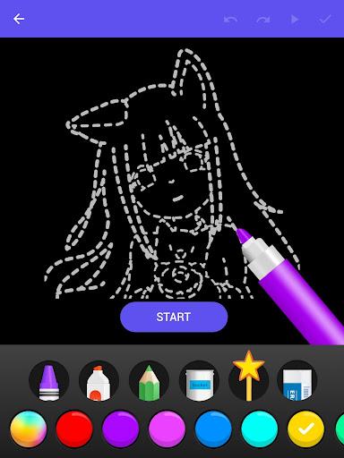Draw Glow Comics 1.0.19 Screenshots 17