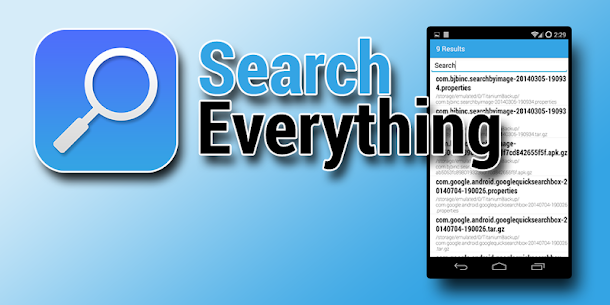 Search Everything 1.13 MOD for Android 1