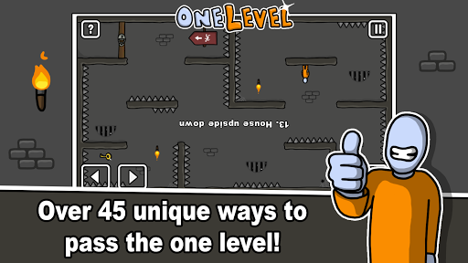 one level: stickman jailbreak screenshot 2