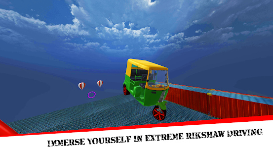Mega Rikshaw Extreme Impossible Stunts 3D For Android 1