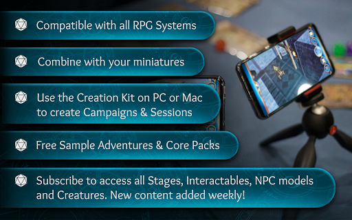 Ardent Roleplay - AR for Tabletop RPGs 1.7.5.4 screenshots 24