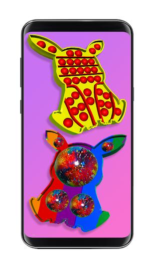 Pop it fidget toy 2! DIY calming asmr popers game apkpoly screenshots 3
