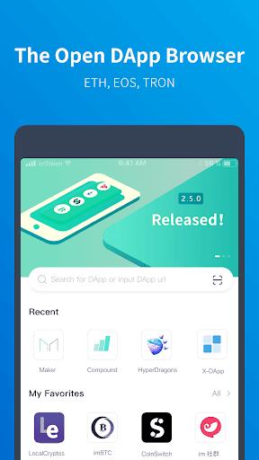 imToken - Bitcoin & Ethereum Wallet modavailable screenshots 5