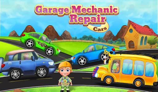 garage mechanic repair cars - vehicles kids game screenshot 3