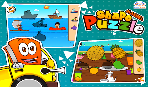 Marbel Shape Puzzle Kids Games modavailable screenshots 14