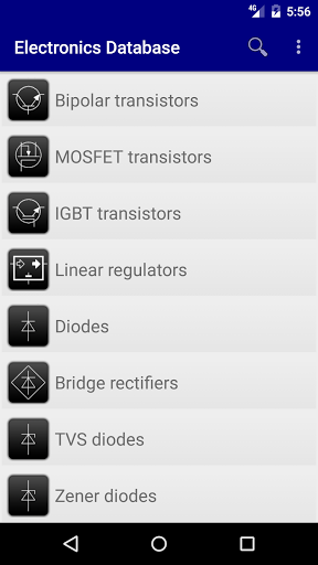Download APK: Electronics Database: params of electronics parts v2.25 [Mod]