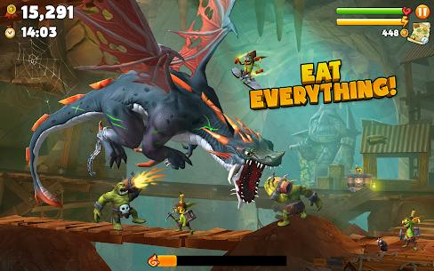 Hungry Dragon APK MOD HACK (Dinero Ilimitado) 2