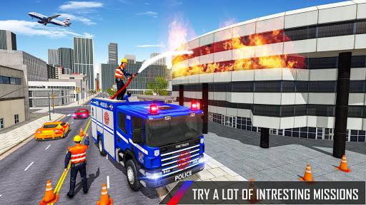Police Ambulance Fire Truck Simulator 2021  screenshots 3