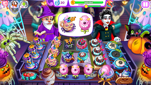 Halloween Madness : Cooking Games Food Fever apkslow screenshots 13