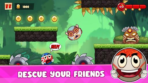 Ball's Journey 6 - Red Bounce Ball Heroes screenshots 14