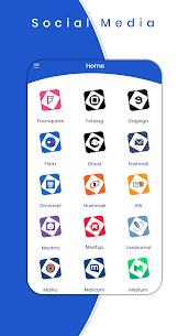 All Social Media apps in one app -All Social sites v1.4.1 APK with Mod + Data 3