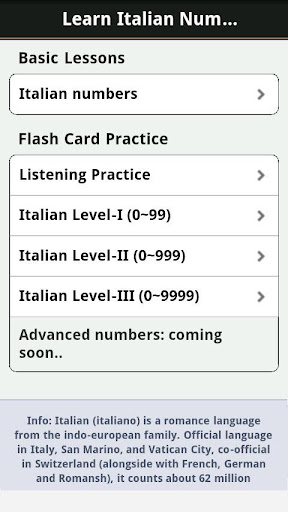 Learn Italian Numbers, Fast! For PC Windows (7, 8, 10, 10X) & Mac Computer Image Number- 6