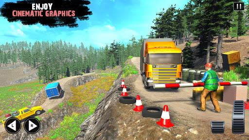 Offroad Cargo Truck Driver: 3D Truck Driving Games 4.7 Screenshots 6
