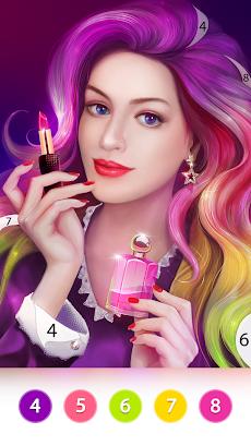 カラーリングファン: 数字で塗り絵ゲームのおすすめ画像5