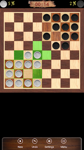 ugolki - checkers - dama screenshot 1