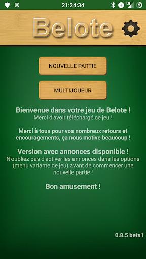 French Belote 0.8.11 Screenshots 1