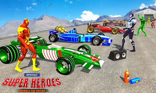 Superhero Mega Ramp Car Stunt: Crazy Car Racing 1.5 screenshots 1