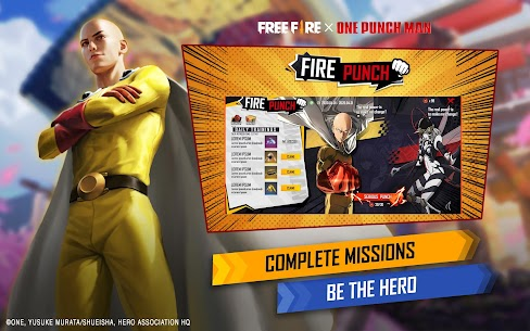 Garena Free Fire-New Beginning Apk Mod + OBB/Data for Android. 9