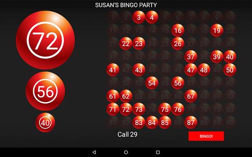 Bingo Caller Machine (free Bingo Calling App)  Screenshots 9