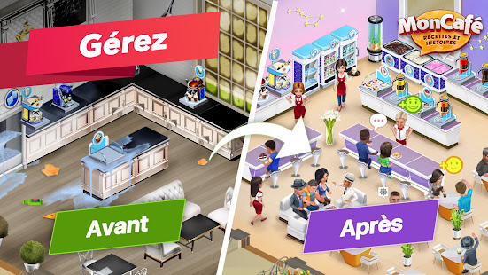 My Café — Jeu de gestion de restaurant. Recettes screenshots apk mod 4