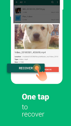 RecycleMaster: RecycleBin, File Recovery, Undelete  Screenshots 4