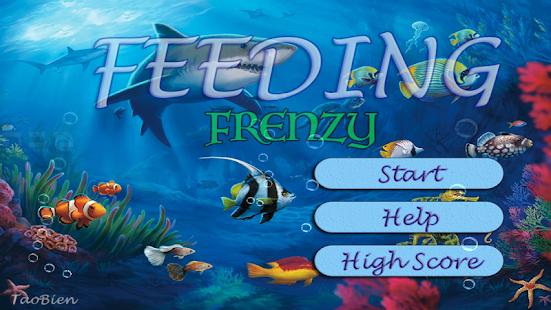 feeding frenzy - eat fish hack