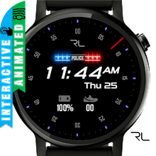 Police Watch Face Download on Windows